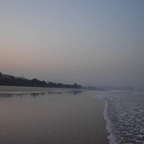 Kashid Beach - Minutes before sunrise