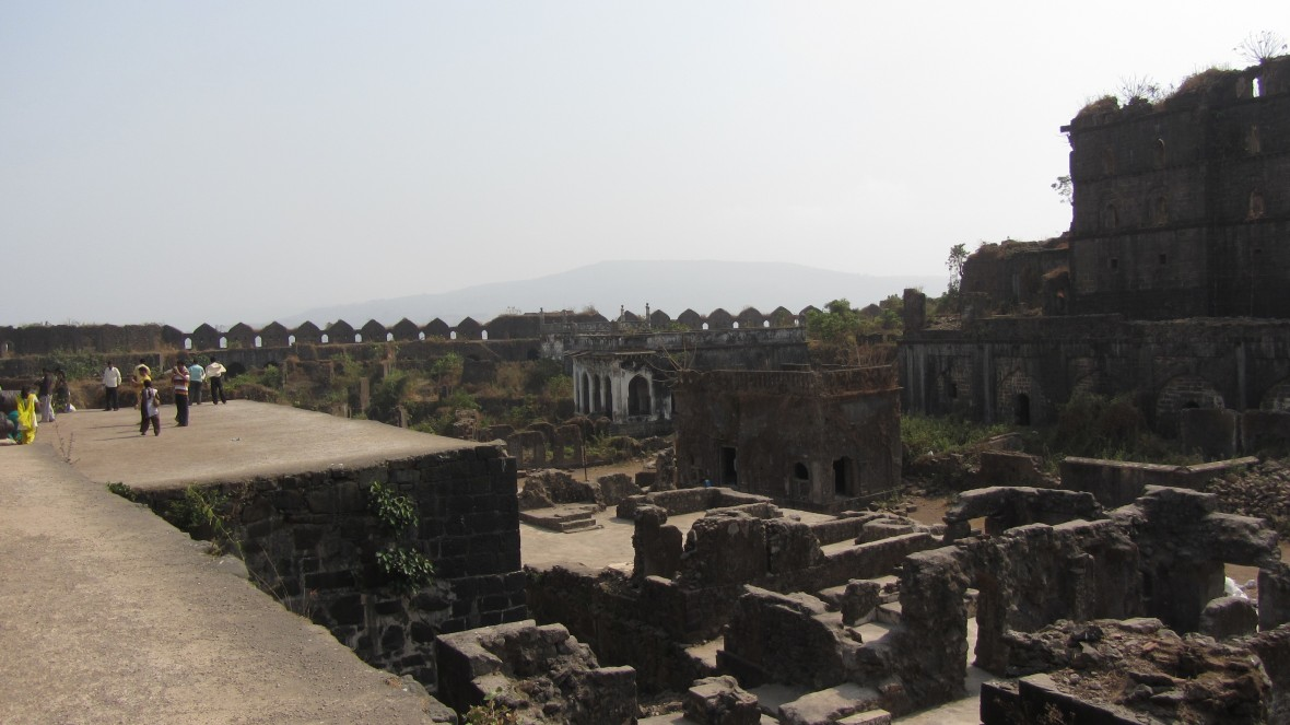 Inside Janjira Fort