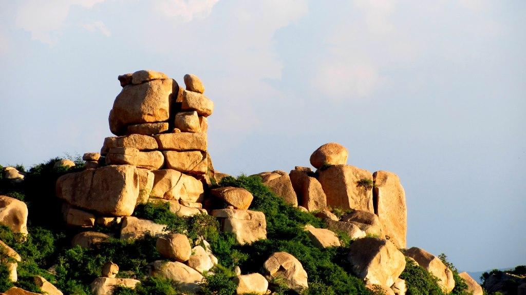 View from Malyavanta Betta