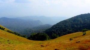 View on the way to Kodachadri Peak