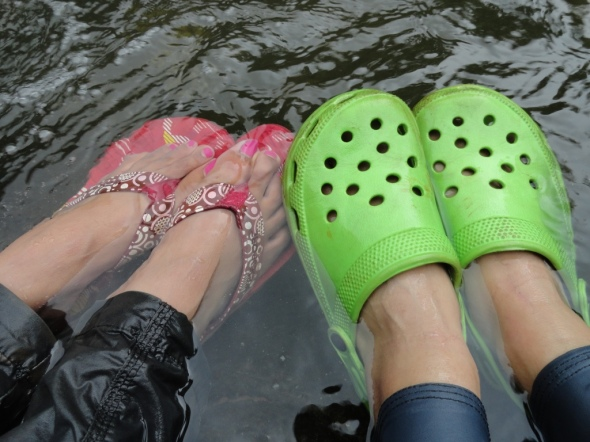 Flip Flops and Crocs