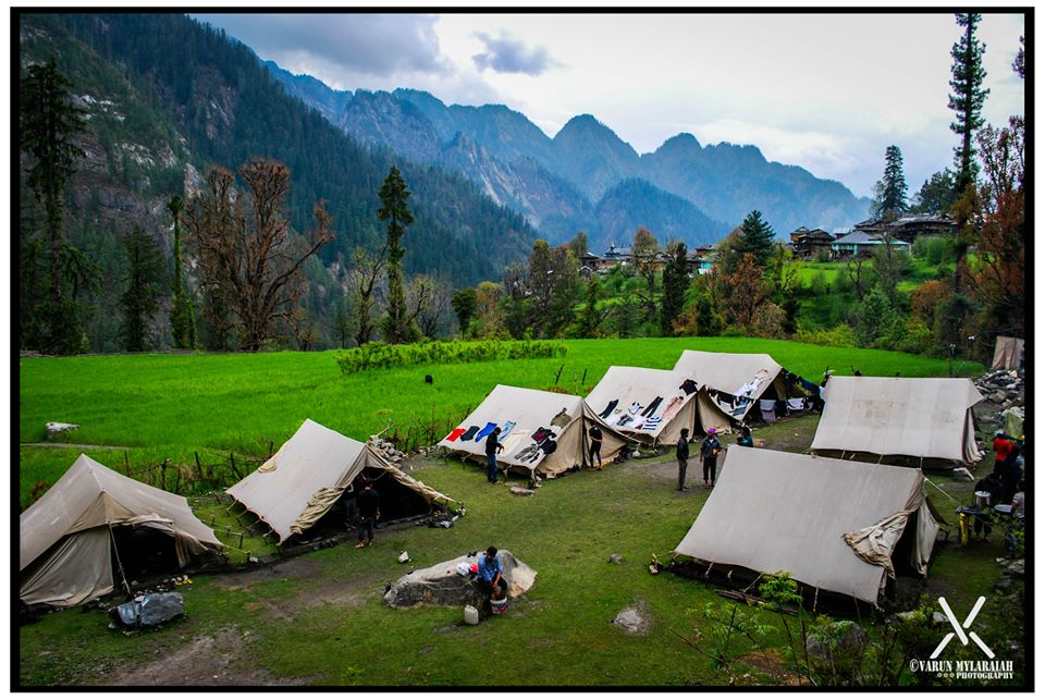 Grahan Camp - Clicked by fellow trekker Varun