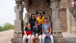 Us at Bhairavnath Temple
