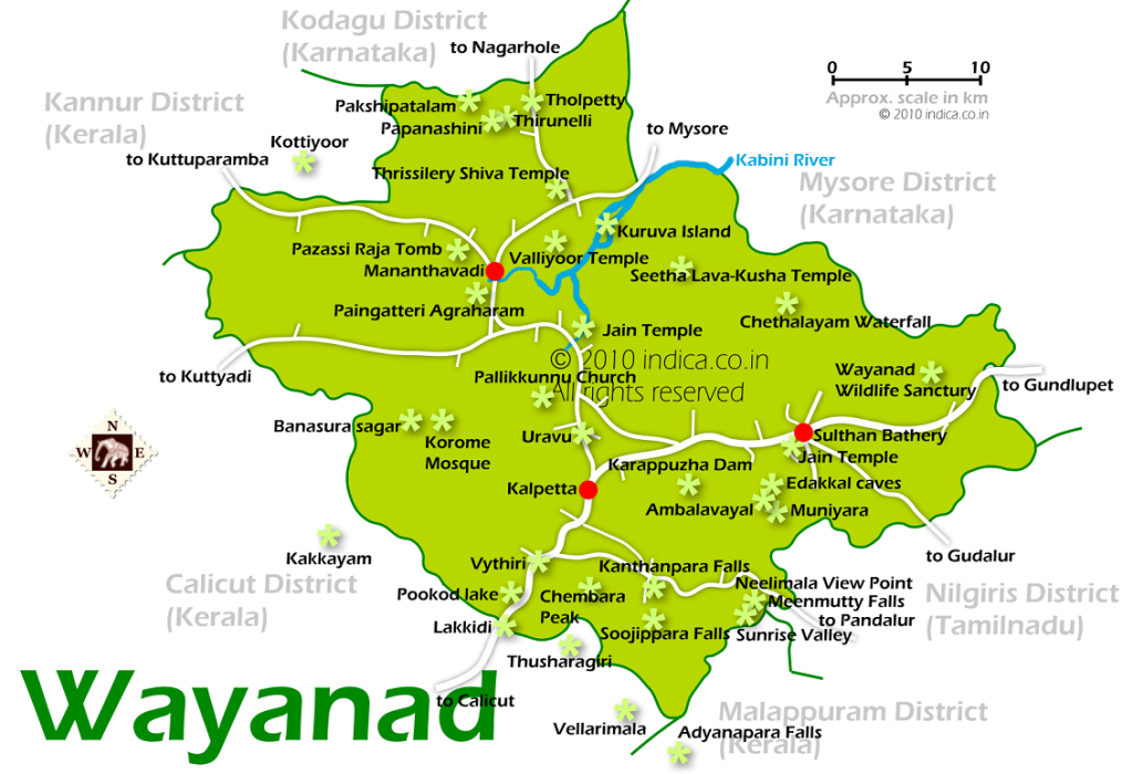wayanad-city-map