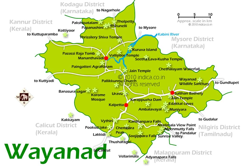 wayanad-city-map