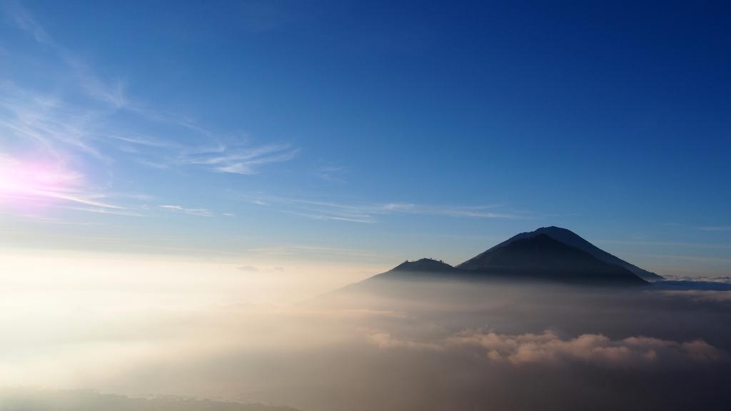 From Mt Batur