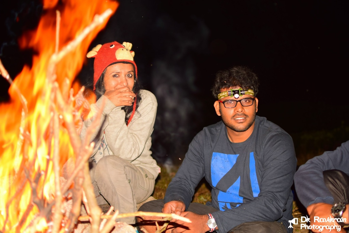 With Raj - The pro trekker and my reindeer ;)