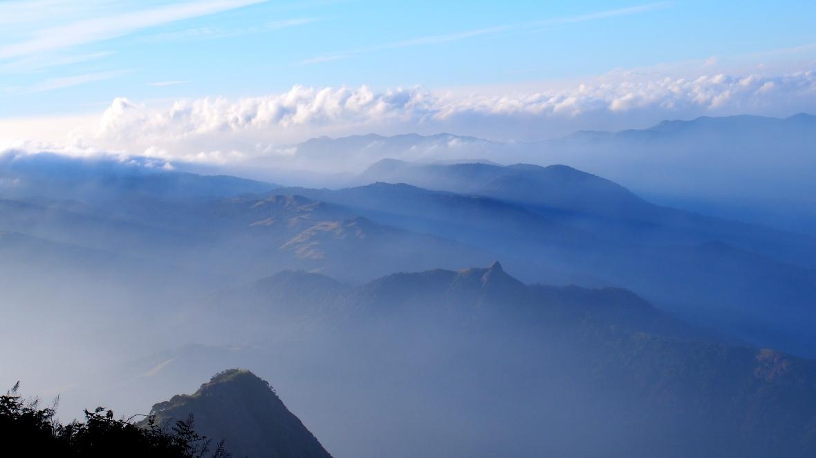 From the peak of Pushpagiri