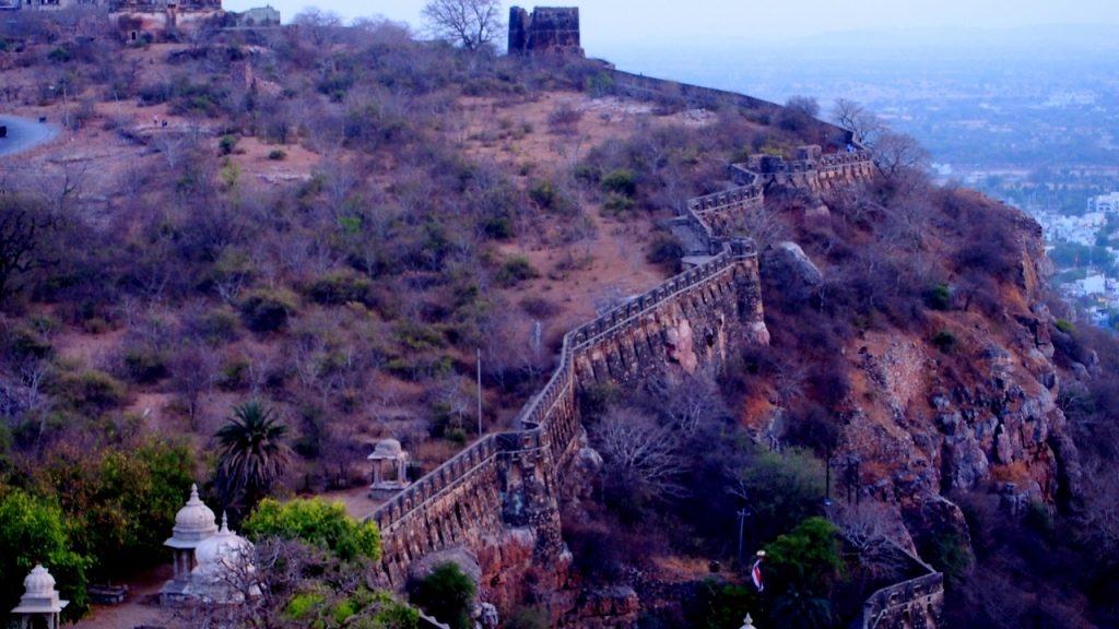 The fort of Chittorgarh