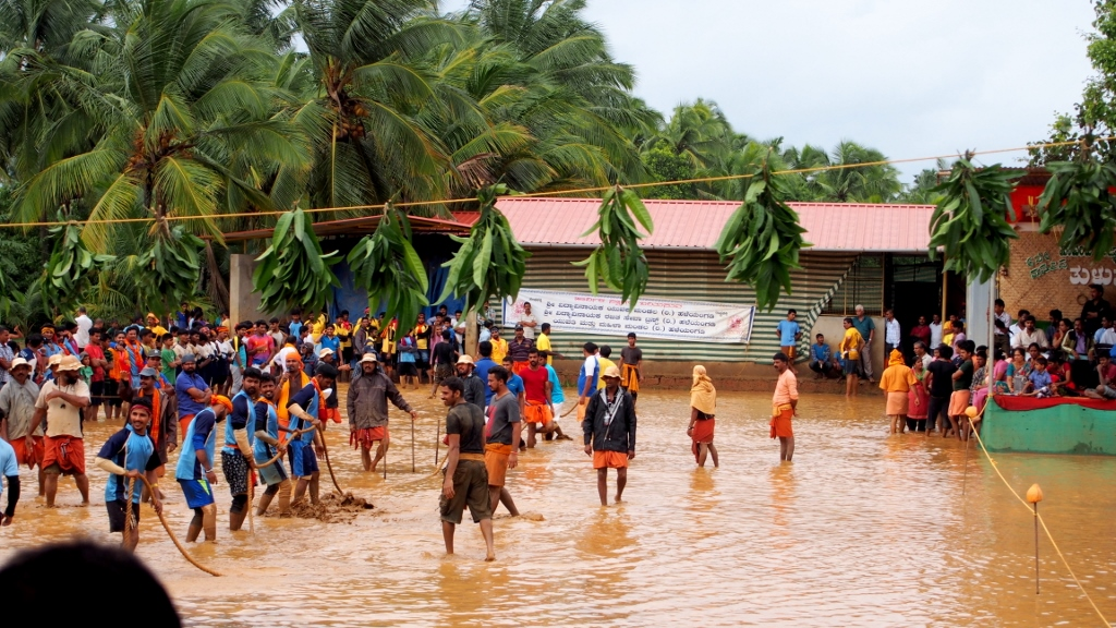 Kesarugadde Aata - A fun monsoon sport